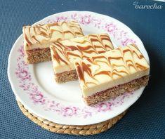 Orechové rezy s bielou čokoládou - recept | Varecha.sk Blackberry, Sweet Recipes, Pie, Food, Hampers, Recipe, Torte, Cake, Fruit Cakes
