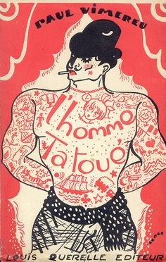 homme tatoué (1930) | by pilllpat (agence eureka)
