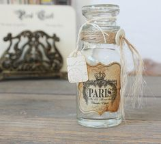 I wonder if this is really a vintage bottle. . . either way, I'm sure I can make something similar, but for $12, it might be worth it just to buy it!
