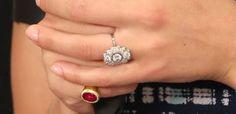 Scarlett Johansson's Art Deco-inspired engagement ring