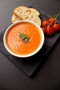 Yummy Roasted Red Pepper Soup