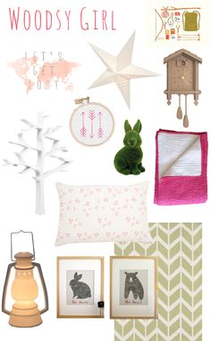 I saw this and thought of your adorable nursery, @Coryn Petersen! A Lovely Lark: Lovely Little Space: Woodsy Girl