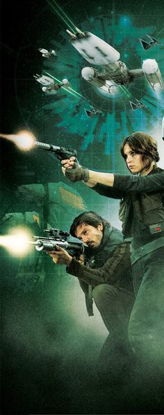 Star Wars Rogue One - Jyn Erso & Captain Cassian Andor
