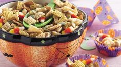 Pumpkin Seed Snack Mix | Print free coupons for your favorite foods and more at http://MyPrintableCoupons.net
