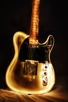 Light Painting - Electric Guitar