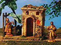5 Inch Scale Bethlehem Inn - Figures not included by Fontanini Bethlehem Inn, Birthplace Of Jesus, Fontanini Nativity, Christmas Program, Dear Santa, Christmas Traditions, Christmas Crafts, Scale, Painting