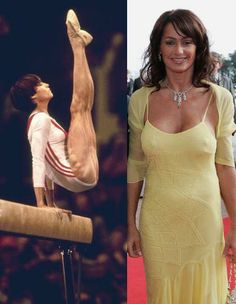 World Famous People Nadia Comaneci When Nadia was about 14 she scored the first perfect 10 at the Olympics in Women's Gymnastics. She wa. Sport Gymnastics, Olympic Gymnastics, Sports Celebrities, Celebs, Nadia Comaneci Perfect 10, Female Gymnast, Olympic Athletes, Sports Photos, Athletic Women