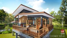 Ideas house plans design modern dream homes for 2019 Modern Tropical House, Tropical House Design, Tropical Houses, Dream House Interior, Dream Home Design, Home Design Plans, Cottage House Designs, Bungalow House Design, Rest House