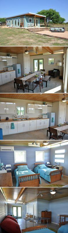 A modular cabin from Kanga Room Systems