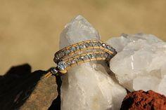 Leather Wrap Bracelet by CraftHoundllc on Etsy, $20.00