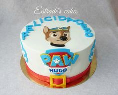 Estrade's cakes: tarta de la Patrulla Canina.