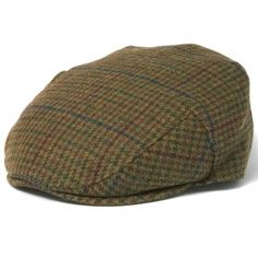 the Crieff is a traditional flat cap with a Lambswool outer and satin lining. Flat Cap, Barbour, Hats For Men, Men's Hats, Flats, Traditional, Mens Fashion, Wool, London