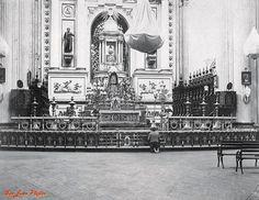 Interior de Catedral Basilica de San Juan , antiguo Altar de la Virgen