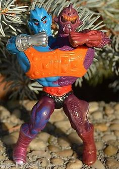 Vintage He-Man TWO BAD Action Figure COMPLETE Masters of the Universe MOTU ROUND