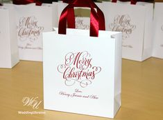 30 Merry Christmas gift bags  Holiday Gift Bag by WeddingUkraine Paper Bag Gift Wrapping, Paper Gift Bags, Paper Gifts, Elegant Birthday Party, Birthday Party Favors, Custom Gift Bags, Christmas Gift Bags, Holiday Gifts, Merry Christmas