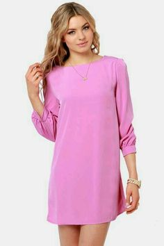 Lulu's doll lilac purple dress