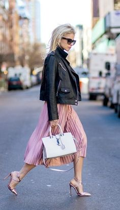 This street-style scene provides endless inspiration for evening and weekend dressing, but those of us with office jobs can be hesitant to incorporate of-the-moment fashion pieces during the week for fear of looking unprofessional. Not anymore..