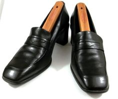 50aa2b862ac Rockport Shoes Womens Size 8.5 B Black Leather Penny Loafer Pumps Heels   Rockport  PumpsClassics