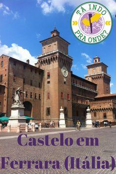 Como é o maravilhoso Castelo Estense em Ferrara, Itália. O castelo da família Este é uma das principais atrações da Emilia-Romagna.