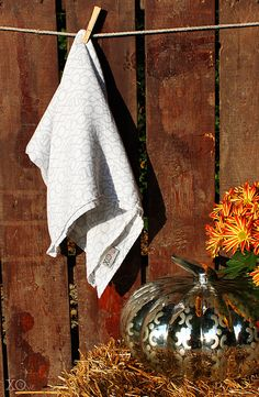 Fall Style: Bamboo Muslin Gender Neutral Swaddle Baby Blanket.