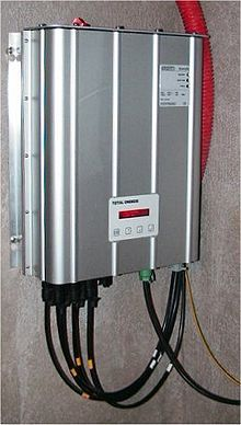 Grid-tie inverter - Wikipedia, the free encyclopedia