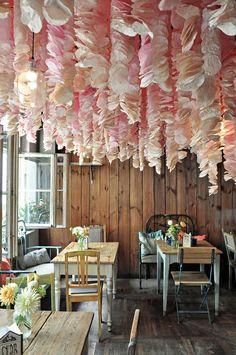 Pracownia Ładnie // 2015 // Chandelier, Ceiling Lights, Lighting, Flowers, Home Decor, Candelabra, Decoration Home, Room Decor, Chandeliers