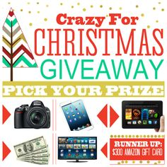 Crazy For Christmas - Pick Your OWN Prize