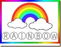 R is for Rainbow  printable unit for all disiplines
