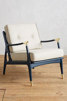 Lacquered Haverhill Occasional Chair - anthropologie.com
