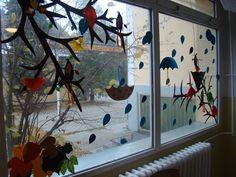 esernyők őszi levelekkel Crafts For Kids, Classroom, Crafts For Children, Class Room, Kids Arts And Crafts, Kid Crafts, Craft Kids