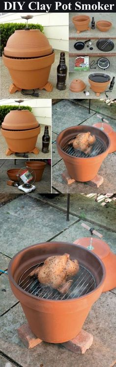 DIY Clay Pot Grill Pictures, Photos, and Images for Facebook, Tumblr, Pinterest, and Twitter