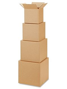 Cube Shipping Boxes in Stock - ULINE