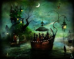 Party at the haunted islet