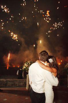 #fireworks  Photography: Marisa Holmes Photography - www.marisaholmesblog.com Coordinator: Wedding Italy - www.weddingitaly.com  Read More: http://www.stylemepretty.com/destination-weddings/2011/01/10/florence-wedding-by-marisa-holmes-photography/