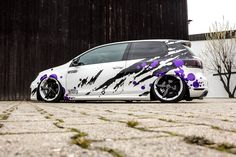 Vw Golf 6, Volkswagen Golf R, Golf Mk3, Cool Car Pictures, Car Photos, Porsche 356, Wrapping Car, Subaru Forester Mods, Car Wrap Design