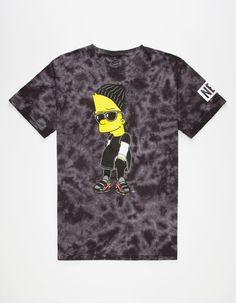 a47f9a83abd NEFF x The Simpsons Steezy Mens T-Shirt The Simpsons