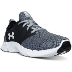 Under Armour Men's Flow Sweater Knit Running Sneakers from Finish Line ($80) ❤…
