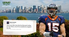 Tim Tebow to the Jets?