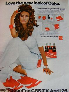 raquel welch for coke