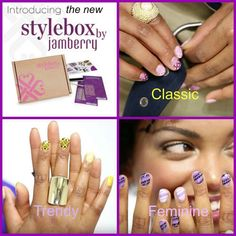 NEW 3 boxes! Take the quiz & find your style  mamakjams.jamberry.com