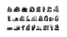 Slotervaart Alphabet by Walewijn den Boer, via Behance