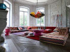 Mah Jong Modular Sofa Collection Les Contemporains