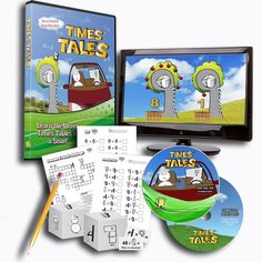 Learn the upper times tables in a snap! Times Tales teaches kids the upper times tables without rote memorization. Students can simply follow along with the entertaining story. As they progress, they'll be guided into associating the stories they've learned with real math.