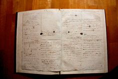 2 of 4 pages of prose young Napoleon Bonaparte drafted in 1795