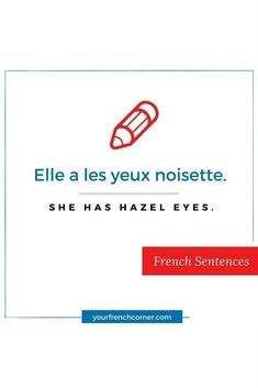 How to describe someone : Physical & Personality Traits in French French Sentences, French Phrases, French Words, French Quotes, How To Speak French, Learn French, Personality Descriptions, Basic Grammar, French For Beginners
