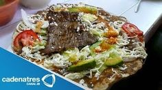 Receta para preparar tlayudas. Receta de tlayudas / Comida mexicana / Recetas fáciles   Pagina Rosalinn Comidas