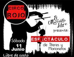 Circo Rojo en Santurcea @ El Mercado Libre #sondeaquipr #circorojo #santurcea #elmercadolibre #sanjuan