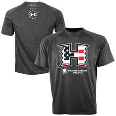 Under Armour Hawaii Warriors Wounded Warrior Project Performance T-Shirt -  Charcoal 499886502e