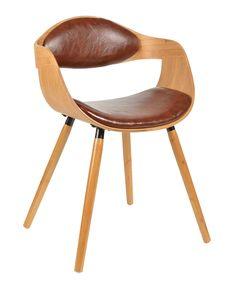 Ideal ts ideen x Design Club Sessel Esstisch K chen Esszimmer Stuhl Sitz in Braun Holz