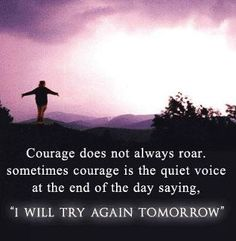 "In this post, you will find amazing courage quotes and sayings. Short Courage Quotes and Sayings ""Courage is resistance to fear, mastery of fear, Life Quotes Love, Inspiring Quotes About Life, Inspirational Thoughts, Great Quotes, Quotes To Live By, Awesome Quotes, Inspiring Women, Deep Quotes, The Words"